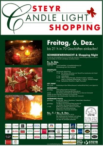 Plakat Candle Light Shopping