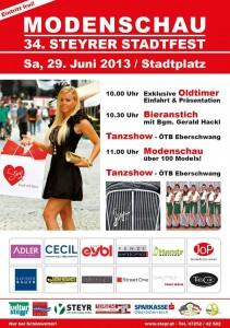 Stadtfest Modenschau 2013
